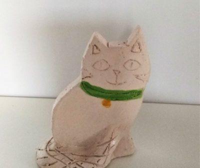 CER_Gatto in ceramica
