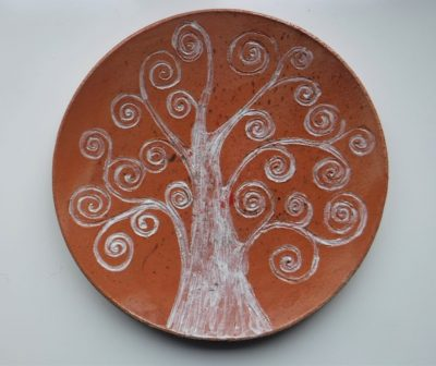 CER_Piatto albero della vita medio