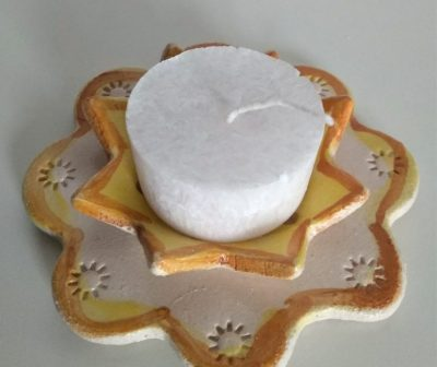 CER_Porta candela ninfea