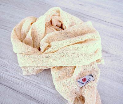 TEX_Sciarpa bouclè 100% cotone